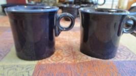 Cobalt Blue Fiestaware Mug Cup Homer Laughlin Co USA Fiesta Set of Two - $9.99
