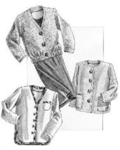 Great Copy 1265 All Season Jacket and Soft Gathered Skirt Sewing Pattern - $10.00