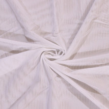 Power Mesh Lite Nylon/Lycra Fabric by the Yard White -  D181.02 - $6.99