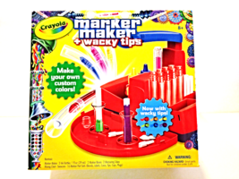 New Crayola Marker Maker Wacky Tips Kids Craft Set Drawing Painting Fun ... - $20.00