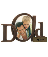 Malden Bronze Script Dad Picture Frame with One... - $12.99