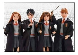 Harry Potter Dolls all 6 harry ron hermione minerva dumbledore and ginny - $278.45