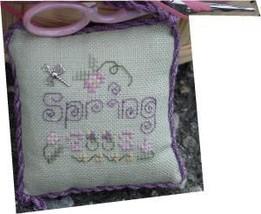 Spring Scissor Fob kit cross stitch Shepherd's Bush - $24.00