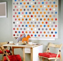 Wall stencil Polka Dot Allover SM, Wall decor for Nurseries, Kids Room - $34.95