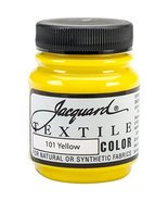 Jacquard Products Jacquard Textile Color Fabric Paint, 2.25-Ounce, Yellow - $3.95