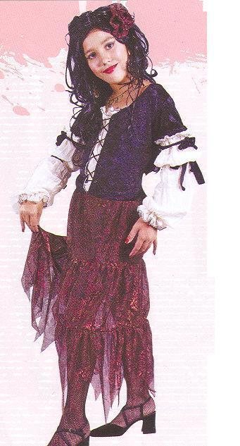 GYPSY PIRATE QUEEN MD 8/10 CHILD'S COSTUME