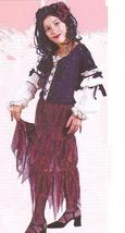 GYPSY PIRATE QUEEN MD 8/10 CHILD'S COSTUME - $30.00