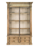 Classic Vintage Oak Wood Office Bookcase, 60''L X 95''H - $3,663.00