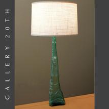 WOW! ITALIAN FIGURAL WOMAN GLASS ART DECO LAMP! VTG MID CENTURY MURANO 6... - $1,500.00