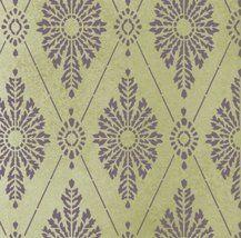 Diamond Damask Stencil - Wallpaper stencils for DIY decor - $49.95