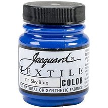 Jacquard Products Textile Color Fabric Paint 2.25-Ounce, Sky Blue - $3.95