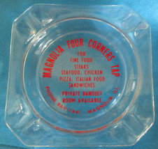 Magnolia Four Corners Tap Ashtray Magnolia, IL  - $3.00