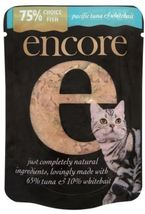 Encore Cat Food Pouch Tuna And Whitebait, 70g, Pack Of 16 - $26.65