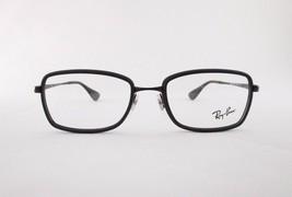 RayBan RB6336 2506 Optical Frame Rectangular Black Eyeglasses - $46.55