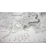 1848 Fine Quality Map - SPAIN Tarragona & Envir... - $17.82