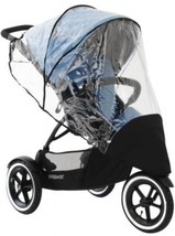 Phil and teds Stormy Weather Cover For Single Navigator Stroller, Clear - $64.60