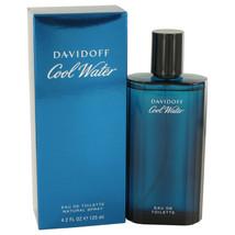 COOL WATER by Davidoff Eau De Toilette Spray 4.2 oz for Men #402086 - $31.92