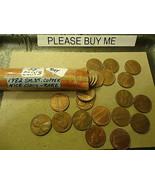 1982 LINCOLN   (((RARE)))   (((SMALL DATE COPPER)))    CENT ROLL   - $11.87