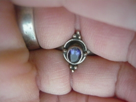 PARANORMAL RING OF Male Gryphon of light RING SIZE 7 SERLING SILVER VINT... - $270.00