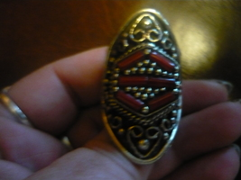 Paranormal Powers Of The Wish Granting Bahai Djinn Old Ring Size 7 - $300.00