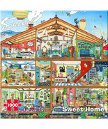 Sweet Home (used 1000-pc jigsaw puzzle) - $12.00