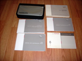2008 Nissan Versa Owners Manual 03348 - $28.95