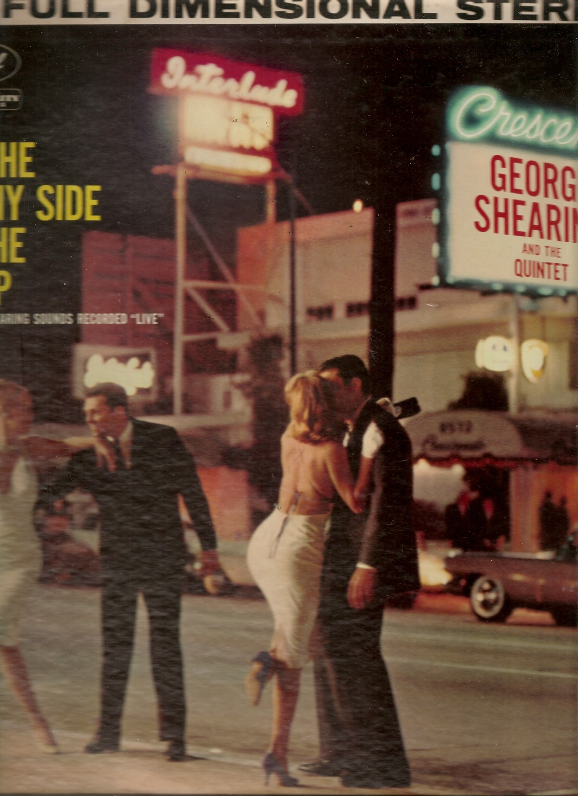 Primary image for LP-- George Shearing Quintet, The ‎– On The Sunny Side Of The Strip