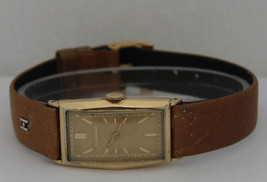 Vintage Tavannes Hand-Winding Gold Filled Silver Dial Watch - $266.07
