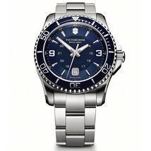 Victorinox Swiss Army Maverick SS Blue 43mm 241602 Watch (Authorized Dea... - $478.92
