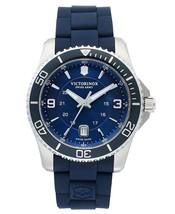 Victorinox Swiss Army Maverick SS Blue 43mm 241603 Watch (Authorized Dea... - $435.38