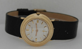 Vintage Longines 14K Yellow Gold Automatic 32mm Circa 1960s Watch - $866.75