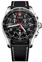 Victorinox Swiss Army Chrono Classic Black 45mm 241444 Watch (Authorized... - $603.44