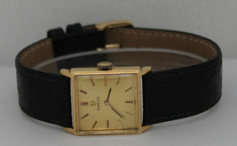Vintage Omega Hand-Winding 18K Yellow Gold Circa 1950s Watch - $1,058.25