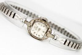 Vintage Gruen Precision 14K White Gold Silver Dial Circa 1930s Watch - $435.38