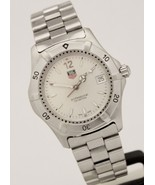 Tag Heuer Professional Stainless Steel Quartz 37mm Silver Dial WK1112-0 Watch - $550.00