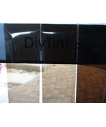 "Brown Window Shading tint film Bronze glass tinting 38"" x 60""  - $29.99"