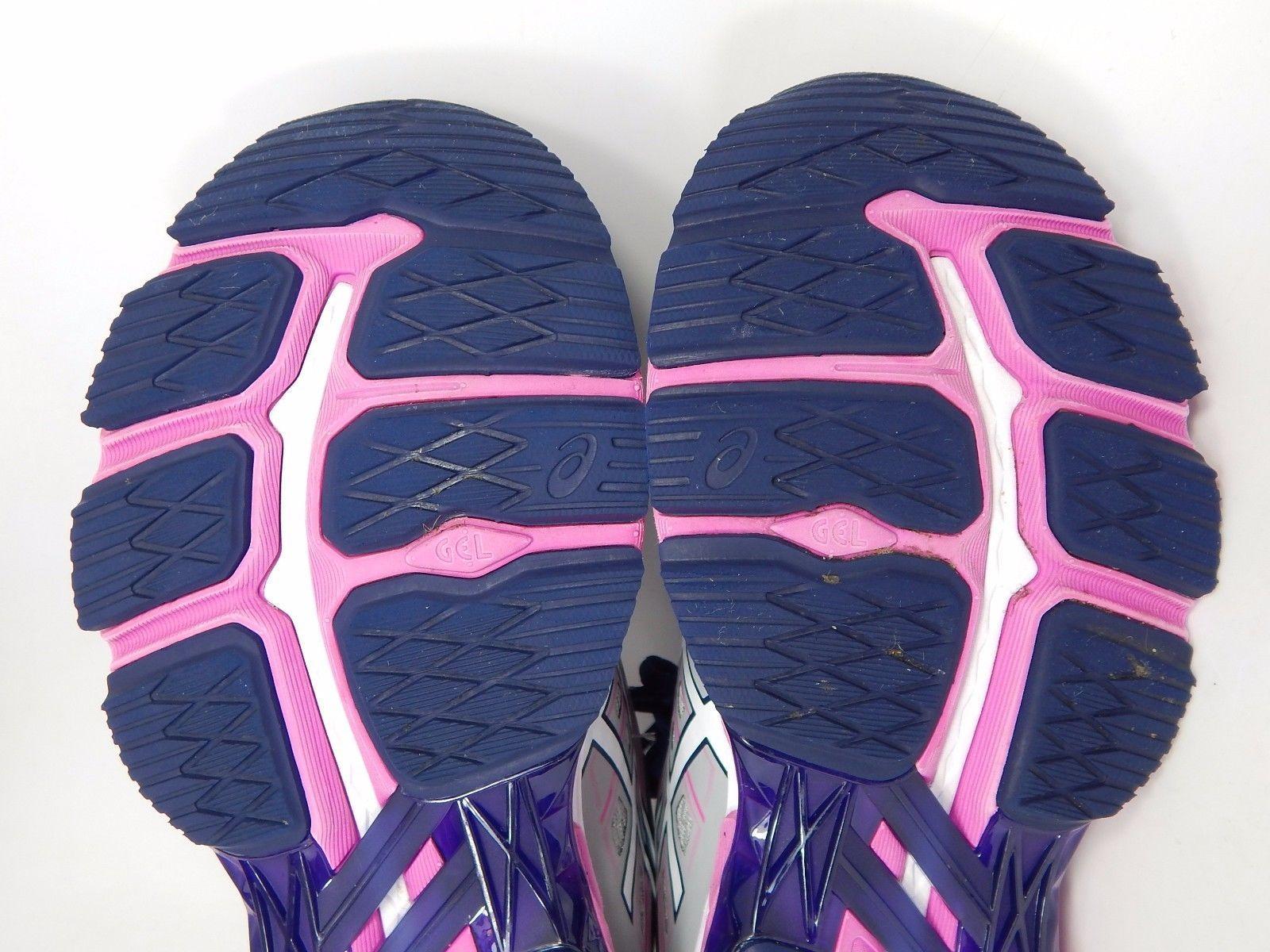 Asics GT 2000 v 5 Women's Running Shoes Sz US 9 M (B) EU 40.5 Silver Blue T757N