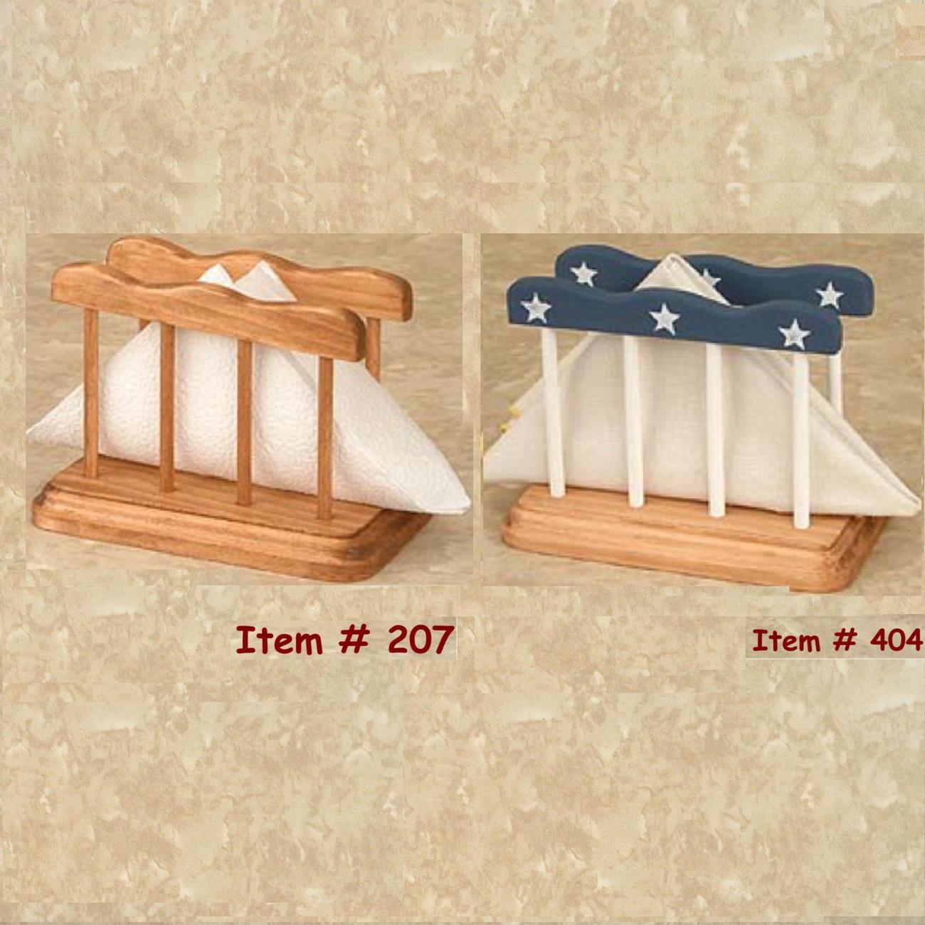 Message Center - Wood Letter Holders