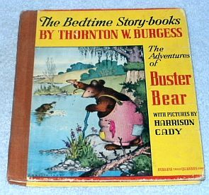 Primary image for  Adventures of Buster Bear Thornton Burgess Harrison Cady Book 1945