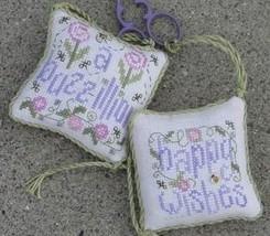 Happy Wishes Scissor Fob kit cross stitch Shepherd's Bush - $24.00