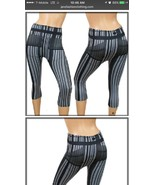 womens Stripped Leggings One Size - $6.99