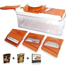 Adjustable Mandoline Slicer - 4 Blades - Vegetable Cutter, Peeler, Slic... - €43,12 EUR