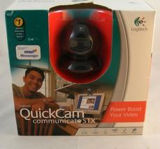 Logitech QuickCam Communicate STX Web Cam - open box - - $4.74