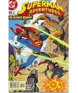 Superman Adventures #63 [Comic] [Jan 01, 2002] ... - $17.94