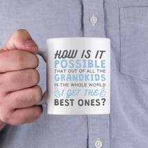 Best Grandkid In The Whole World Coffee Mug Gift to Grandpa For Father's... - $14.99