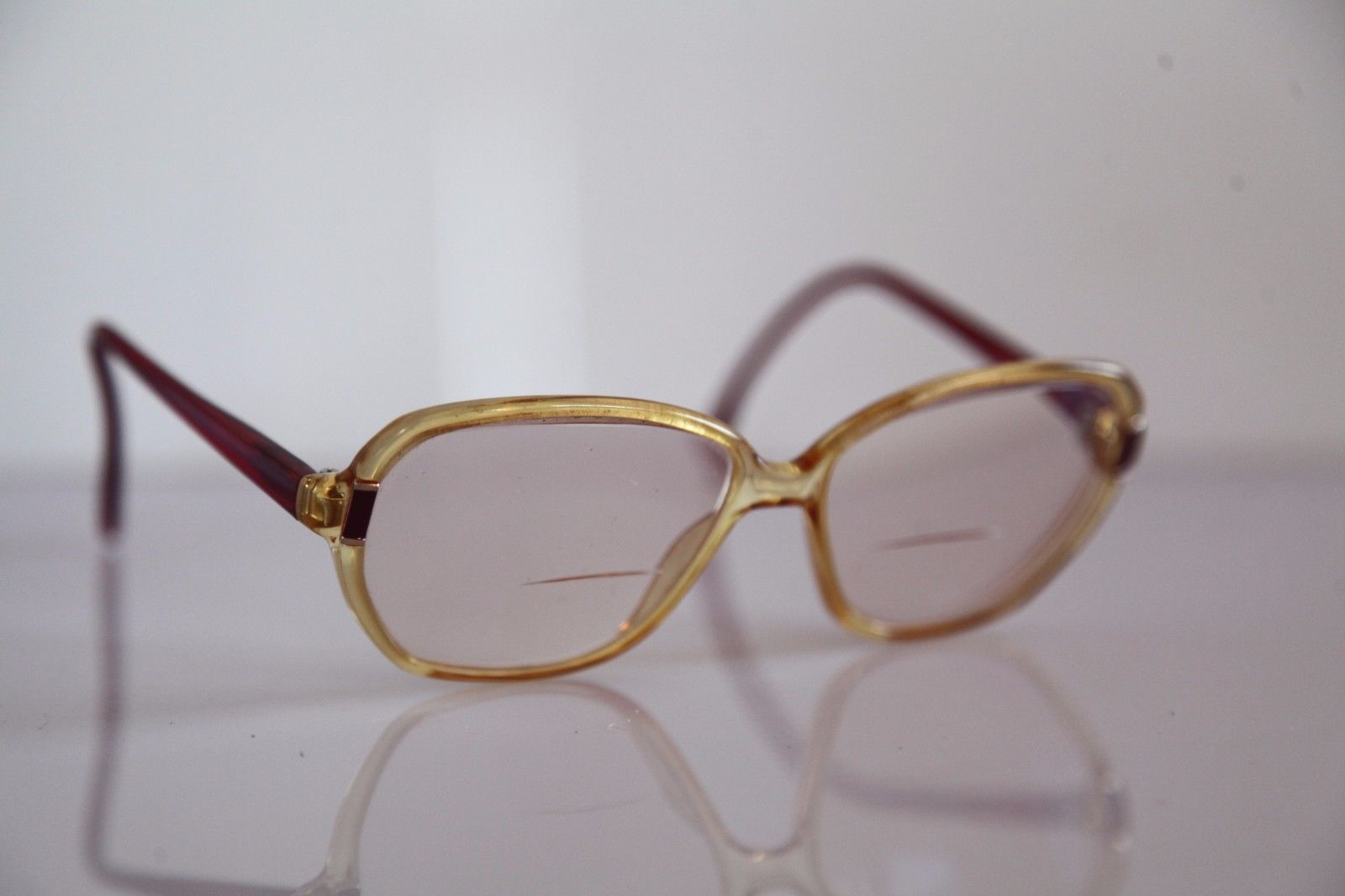ZEISS Eyewear, Crystal Gold, Red, Frame,  RX-Able Prescription lenses. Germany