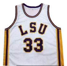 Shaquille O'Neal #33 College Basketball Jersey New Sewn White Any Size image 4