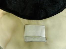 Jason Wu Dress Black Drape Cutout Back Silk Fil Coupé Dress 2 $1765 image 6