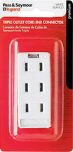 Pass & Seymour 2603WBPCC10 Triple Outlet, 10A, 125V, White - $19.77