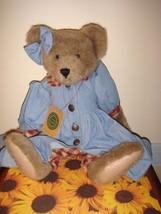 Boyds Bears Lucy Bea LeBruin QVC Exclusive Bear Wearing Denim - $39.99
